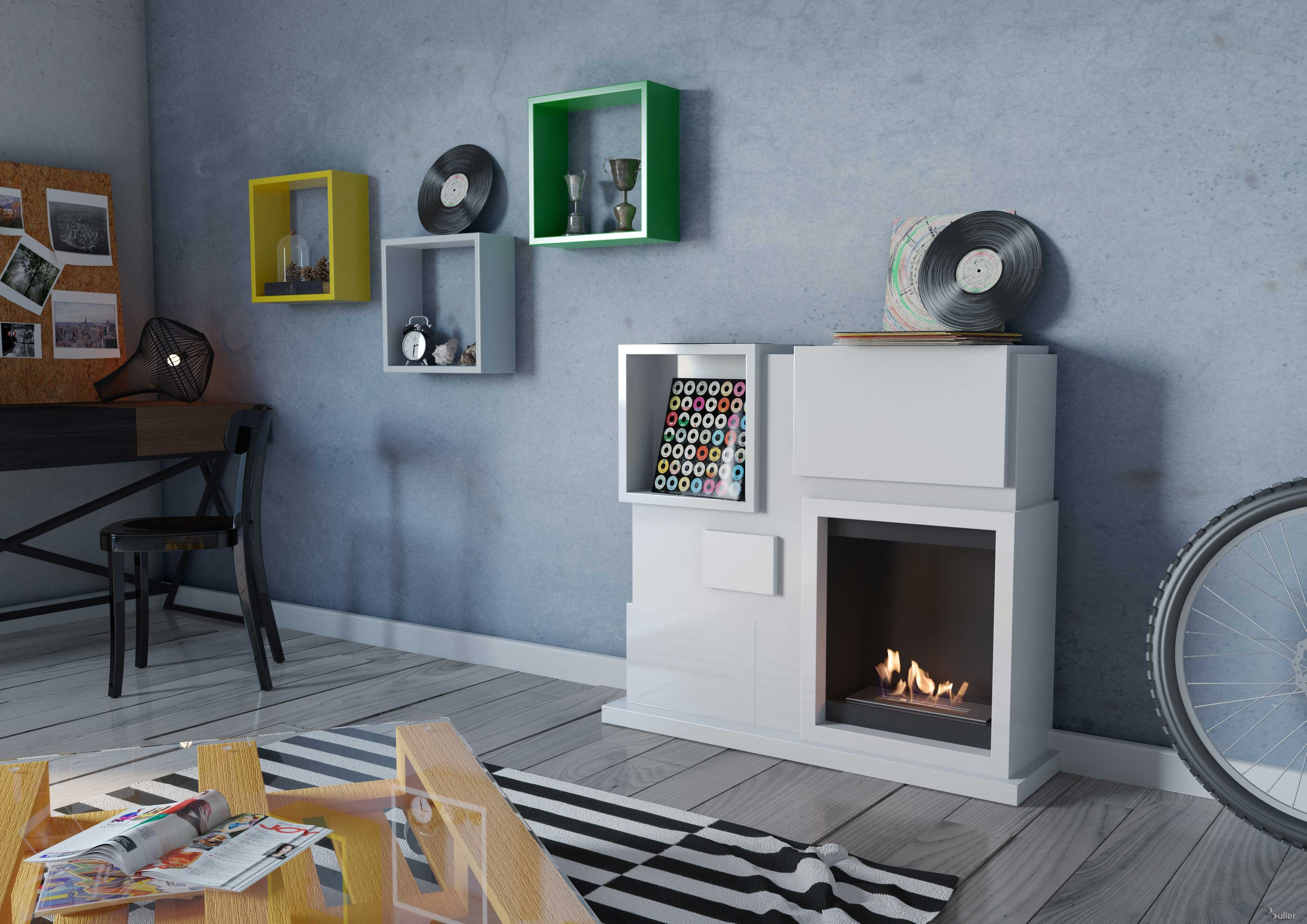 wall in portfolio fireplace linnea burner dove ethanol paloform page modern charcoal mantel mounted