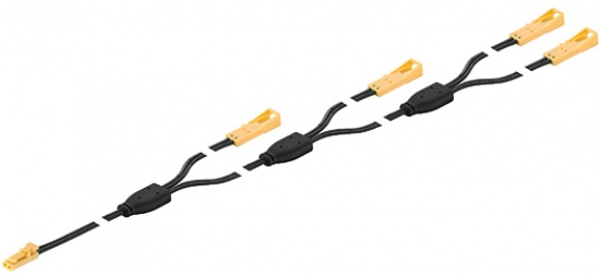 Loox 12V Extension Lead 4-way 6500mm