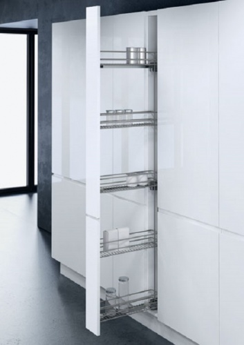 Vauth-Sagel Pull Out 150mm Larder Unit With STORAGE BASKETS