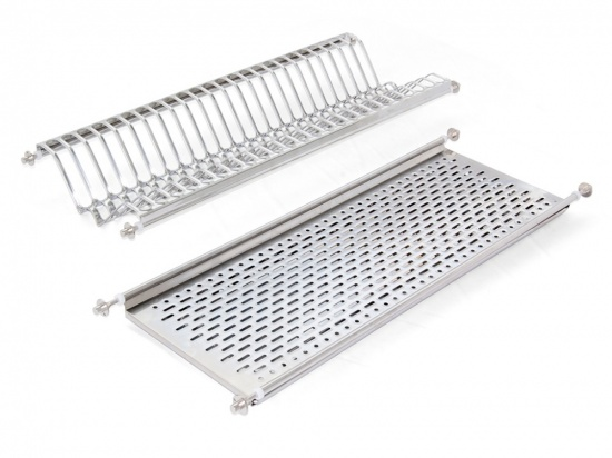 Emuca Dish Drying Rack For Standard Kitchen Cabinet