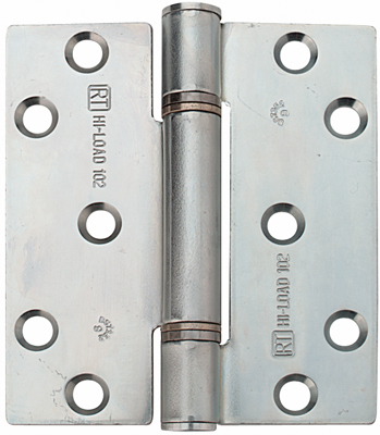 Steel HI-LOAD Hinges, 3 Knuckle, Fixed Pin, 100 x 88 mm