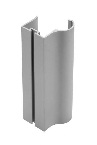 Aluminium Profile Handle For Sliding Wardrobe Doors Full Length 2.7m