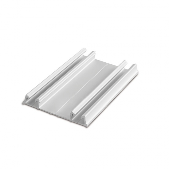 Aluminium Bottom Track PRO For Sliding Wardrobe Doors