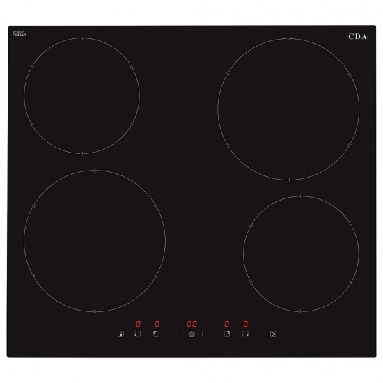 CDA Four Zone Induction Hob - HN6111FR