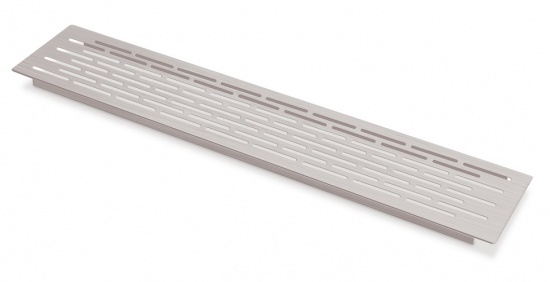 Kitchen Worktop / Plinth Heat Vent Grill 500x100mm