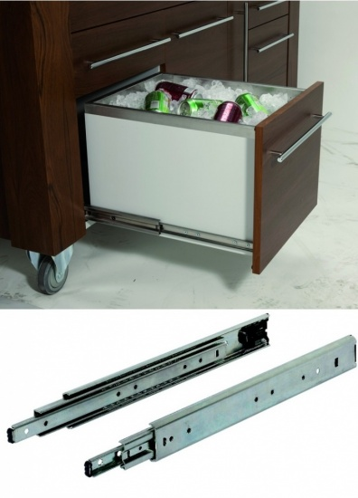 Accuride 5321-SC Full Extension & Self Close Drawer Slide, up to 120kg