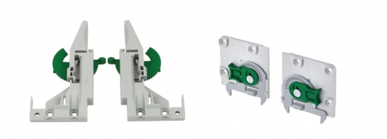 Grass Dynapro Plastic Fixing Clips / 2D Adjustment
