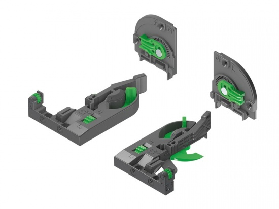 Grass DYNAPRO 4D Front and Rear Clips and Adaptor