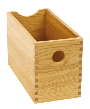 sc 1 st  Solmer Ltd & European Oak Storage Box Clear Lacquered Finish