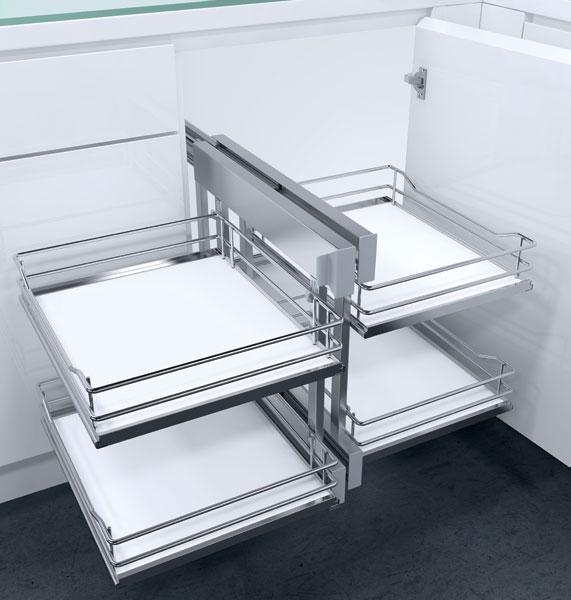 Vauth-Sagel Kitchen Flex Corner Swing Out Corner Unhanded Unit