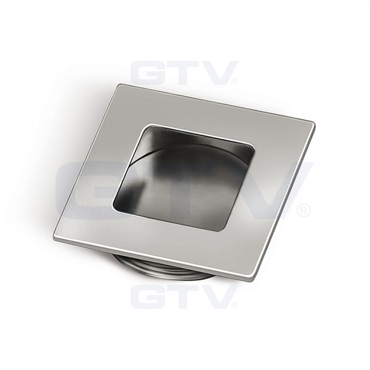 Square Recessed Kitchen Bedroom Door Handle B226