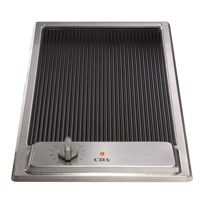 Cda Electric Domino Griddle Hob Hcc310ss