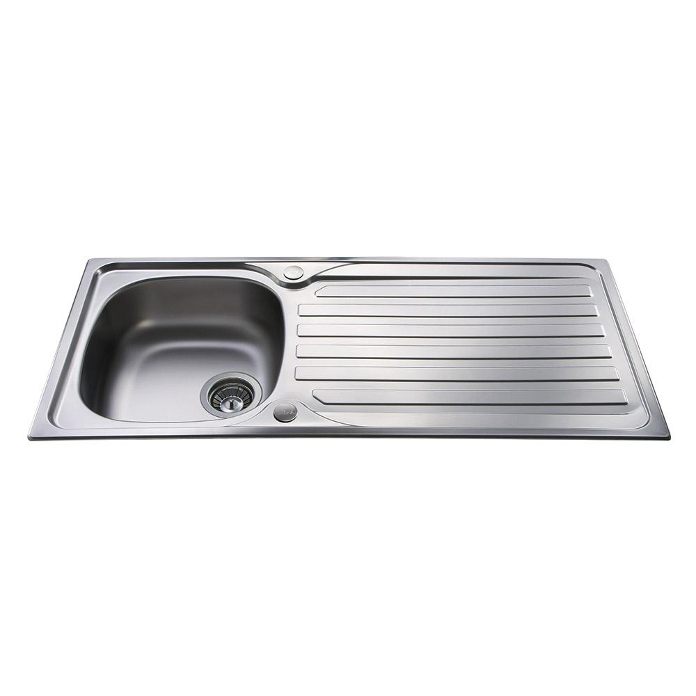 Cda stainless steel single bowl sink ka21ss cda stainless steel kitchen single bowl sink ka21ss ccuart Choice Image