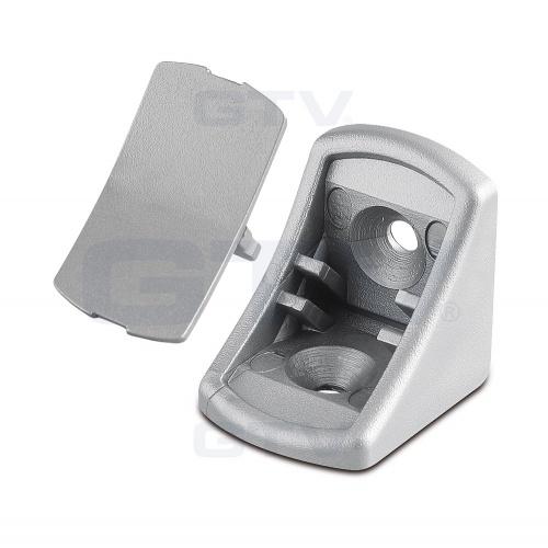 Shelf Plastic Bracket Holder Single Corner