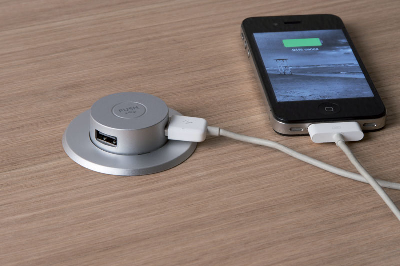 Pop up usb charger - Phone charging furniture the future in your home ...