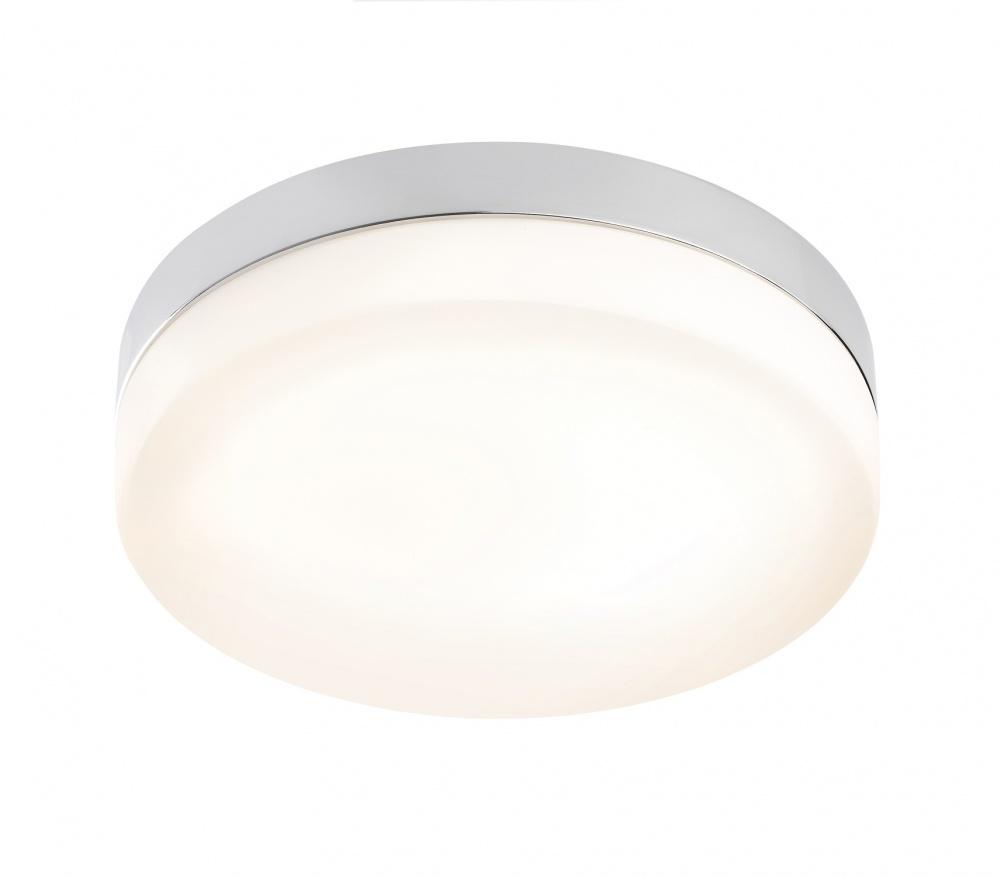 Flat Kitchen Ceiling Lights: Sensio HUDSON Flat Round LED Ceiling Light Warm White