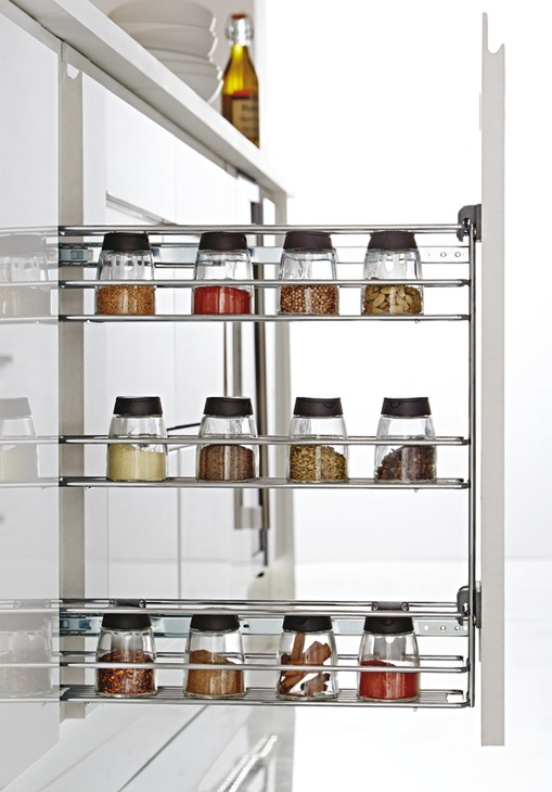 Pull Out Storage Unit For Cabinet Width 150 Mm
