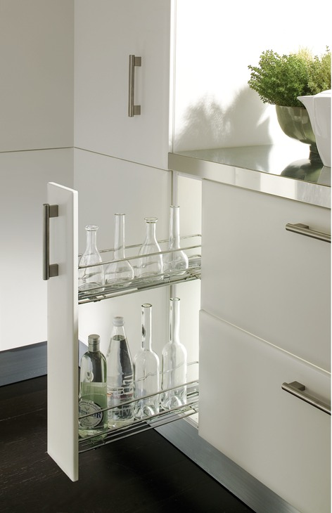 Pull Out Storage Unit Two Tier For Cabinet Width 150mm