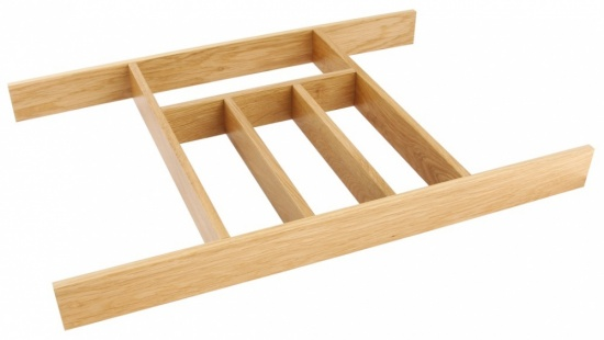 Wooden Cutlery Insert for Drawer Width 400-1000 mm