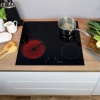 CDA Four Zone Ceramic Hob - HC6621FR
