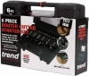 Trend 6 Pieces 1/4 inch Router Cutter Starter Set