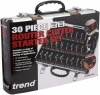 Trend 30 Pieces 1/4 inch Router Cutter Starter Set