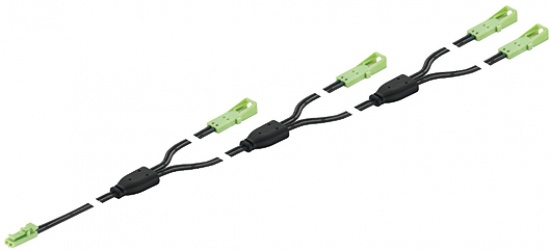 Loox 24V Extension Lead 4-way 6500mm