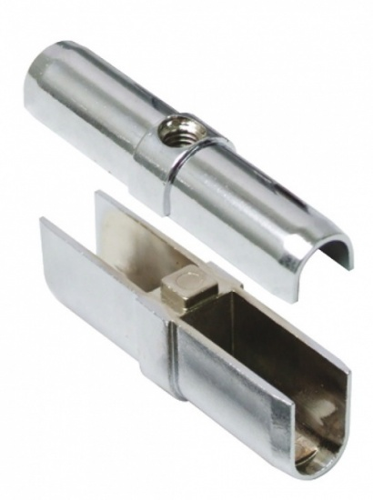 Wardrobe Rail Connector / Together 30 x 15mm