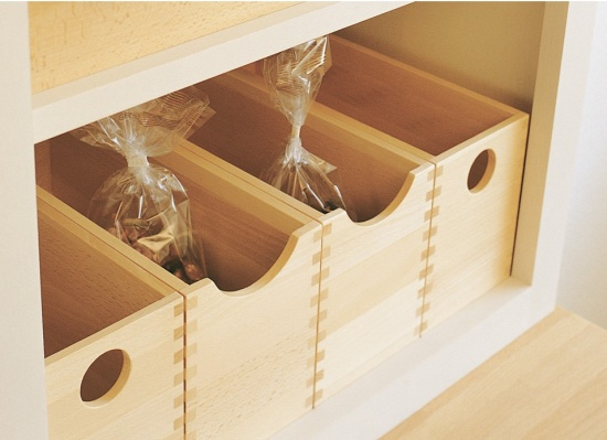 European Oak Storage Box Clear Lacquered Finish