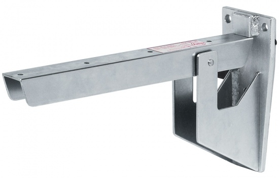 Heavy Duty Hebgo Folding Bracket / Load Bearing Capacity 500 kg / Galvanized