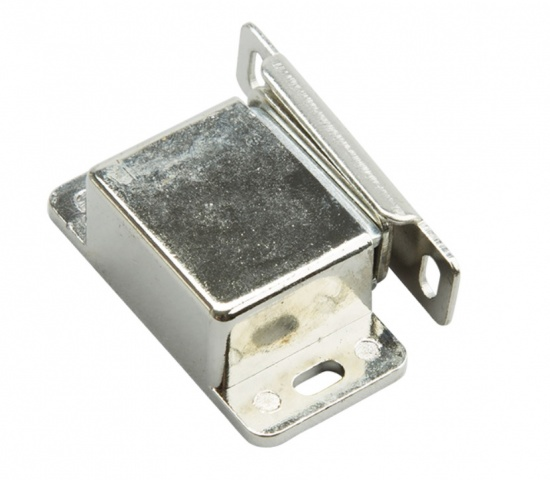 Magnetic Catch 8 kg with Spring Conetr Plate / Steel Nickel
