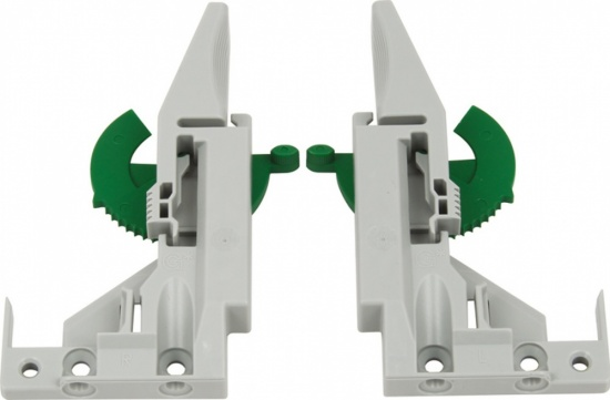 Grass Front Bracketsfor for Dynamoov Runners / 1D Adjustment