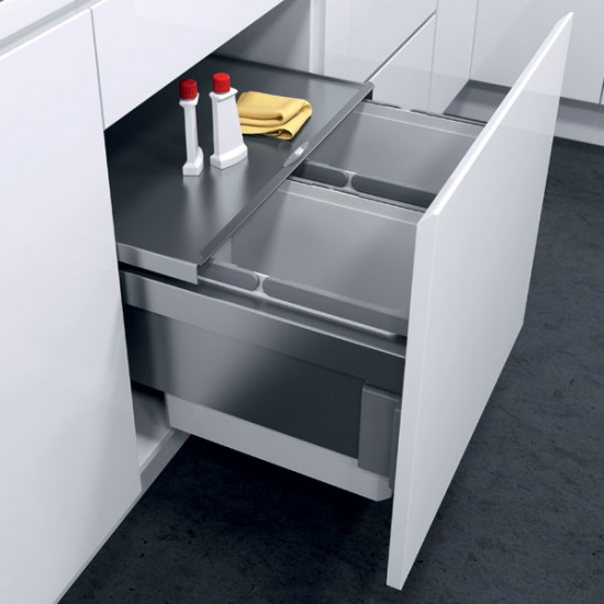 Envi Space Pro Pull-out Kitchen Cabinet Waste Bins