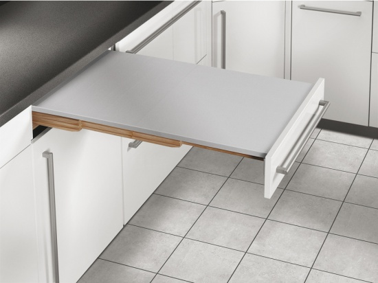 RAPID Pull-Out Tables / Self Supporting / Load Bearing Capacity 100 kg