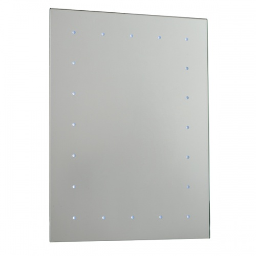 Saxby TOBA LED Bathroom Mirror / Battery Operated / IP44