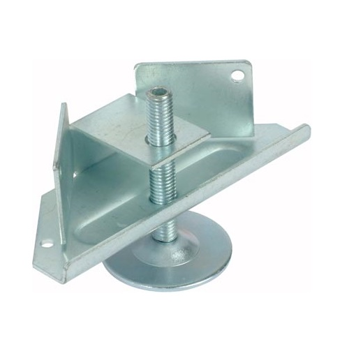 Plinth Adjuster With Bracket, Ø 12 mm, 150 kg