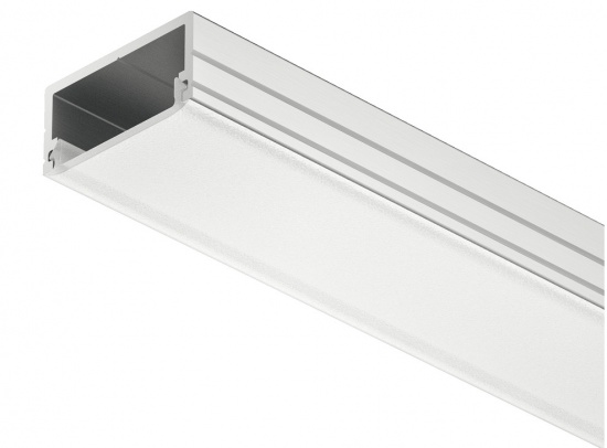 Loox Aluminium Profiles 8.5 mm Height for Surface Mounting