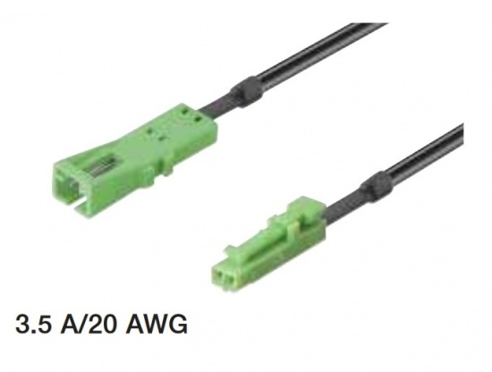 Loox 24V Extension Lead / Length 500 - 2000mm