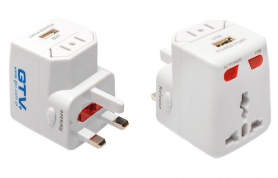 Universal Adapter For Mains Sockets TA1U