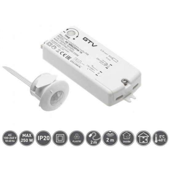 Sensor Switch with PIR Motion Detector