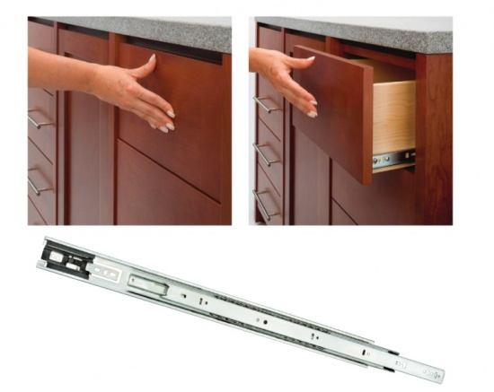 Accuride 3832TR Ball Bearing Touch Release Drawer Runners