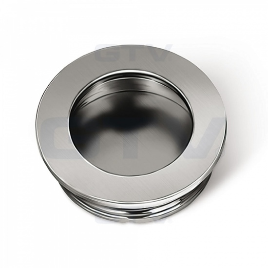 Round Recessed Kitchen / Bedroom Door Handle B224
