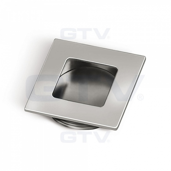 Square Recessed Kitchen / Bedroom Door Handle B226