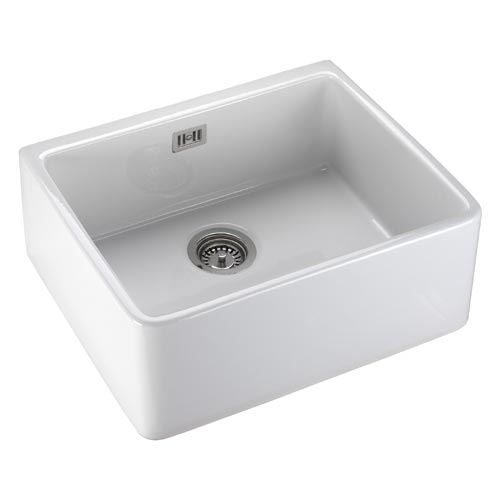 Rangemaster Leisure Belfast Single Bowl Sink White