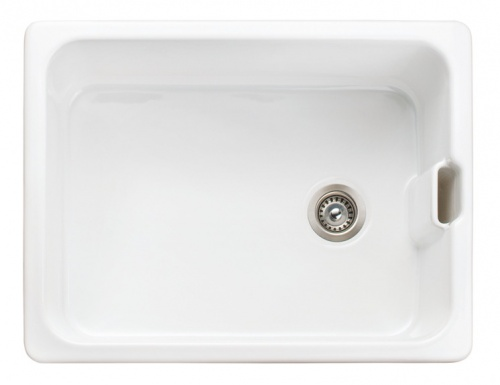 Rangemaster Farmhouse Belfast Single Bowl Sink White
