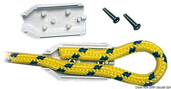 Osculati Plastic Clamps for Rope Splicing