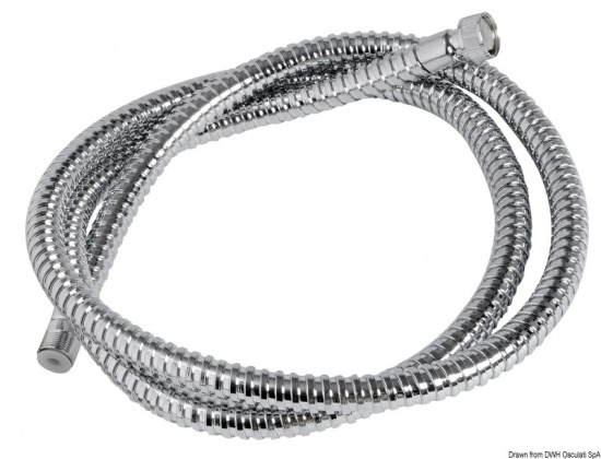 Shower Hose Stainless Steel Polished