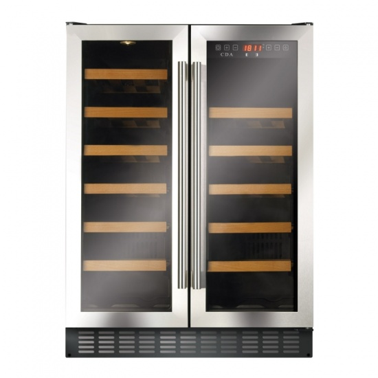 Freestanding / Under Counter Double Door Wine Cooler 595mm