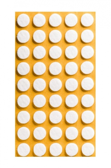 Circle Self Adhesive Felt Pads Ø15/20/25/30/35/40mm