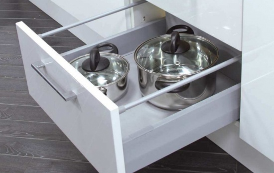 Kitchen Cabinet Assembled High Standard Drawer System